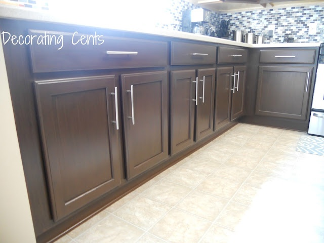 Rustoleum cabinet transformation and Liberty Cabinet Pulls