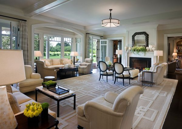 How To Arrange Furniture In A Large Living Room Large