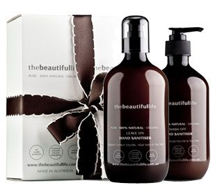 thebeautifullife - Twin Pack Antibacterial Hand & Leave On Hand Sanitiser