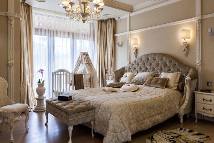 Фото Интерьеры спален в неоклассическом стиле