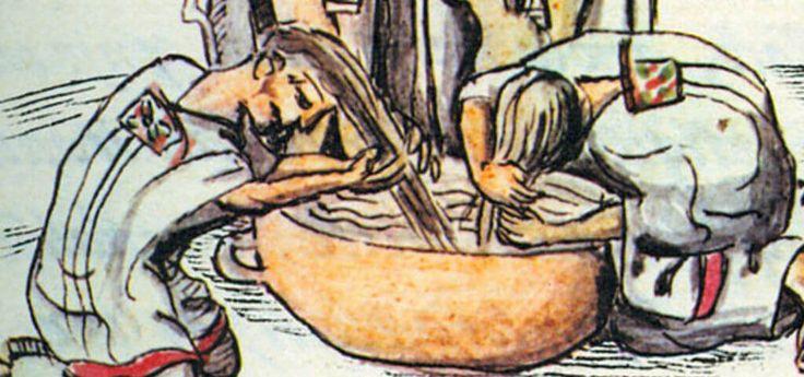 10 sorprendentes hábitos de higiene de los aztecas que contrastaban con los europeos - Más de México