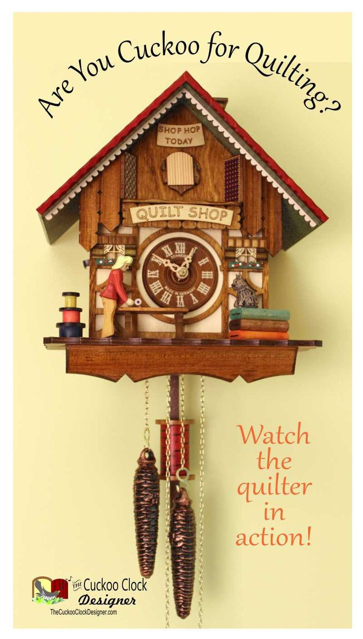 best the quilt shop cuckoo clock images cuckoo  made in its the real thing and it s animated the quilt shop cuckoo