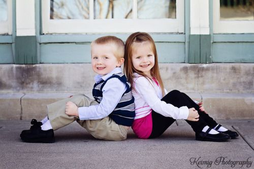 Brother/Sister Pose <3  https://www.facebook.com/KeimigPhotography