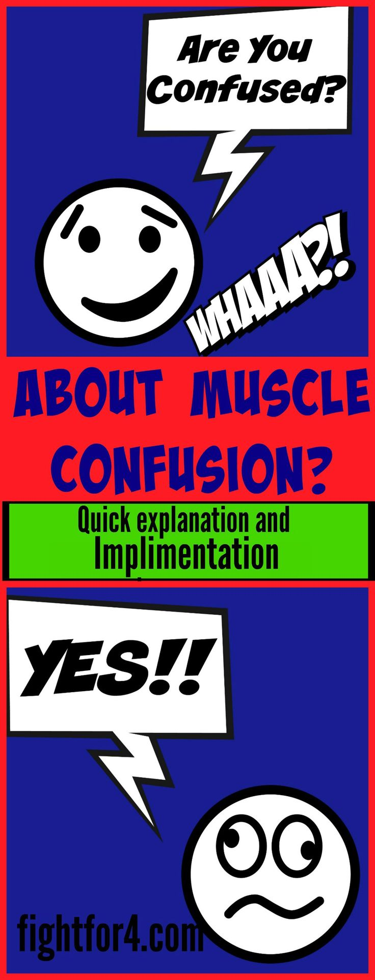 Confused about Muscle Confusion? ~ Fight for 4
