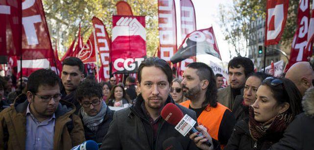 Ya hay fecha para el otoño caliente de movilizaciones de los sindicatos con Podemos