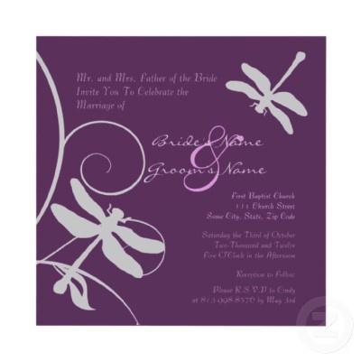 Invitations?: Dragonfly Wedding, Wedding Invitations