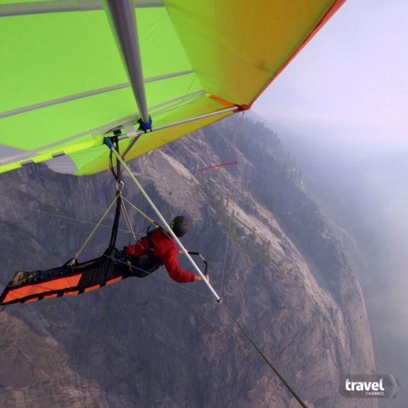 Hang Gliding Over California's Parks