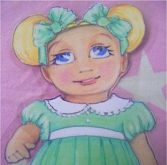 adorable paper art dolls so cute