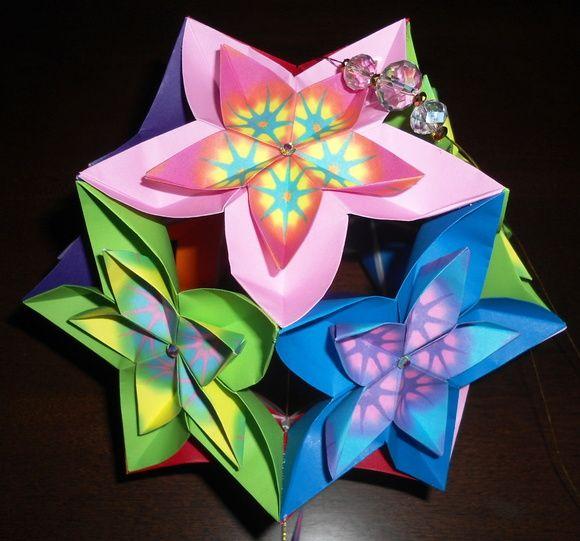 Kusudama Flor De Cerejeira (sakura)