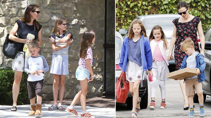 Ben Affleck and Jennifer Garner's kids 2017 [Violet Affleck, Seraphina A...