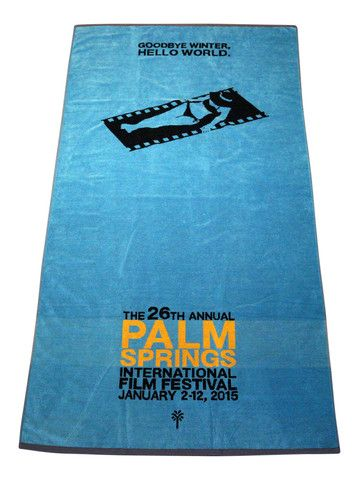 Destination PSP - 2015 Palm Springs International Film Festival Pool Towel