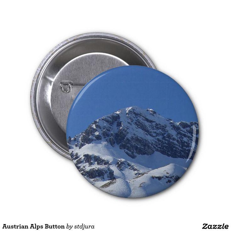 Austrian Alps Button
