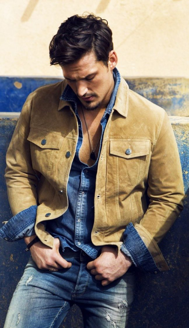 #kasar - seeing a lot of denim being used recently. This is well put together