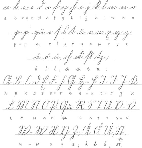 Danish Capital Letters