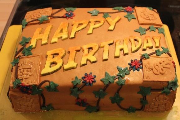 Indiana Jones Cake. Best one I've seen!