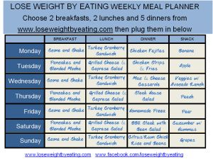 HOW TO STAY FULL ON ONLY 1200 CALORIES... Free recipes and weight loss tips!