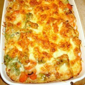 Tésztával sült zöldséges csirkemell Recept képekkel -   Mindmegette.hu - Receptek