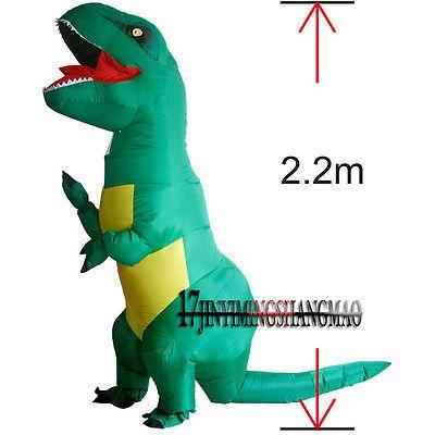 about  Big   Dinosaur Halloween Costume for   JGQ21   Women Men Dragon Animal O