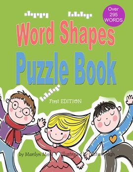 Word Shapes Puzzle Book activities will engage your students and help them learn new words and enrich your child's vocabulary. Students will read an exact definition which will give them a clue to the actual word needed to complete the word shapes. Word Shapes Puzzle Book is a lifelong learning tool for