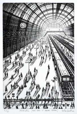 John Duffin - Arrival: King's Cross, St Pancras