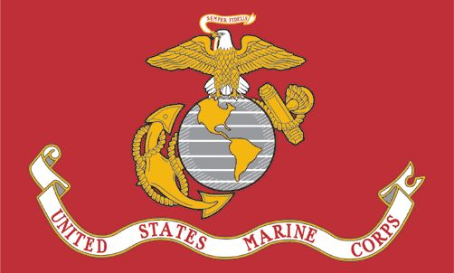 """Pin #13. Latin for """"always faithful,"""" Semper Fidelis became the Marine Corps motto in 1883."""