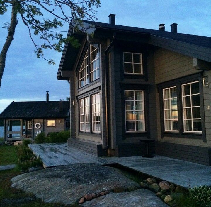 Beautiful home picture from instagram: @marinaannss #stockhus #beautifulhouse