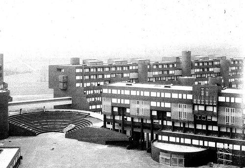 Carlo Aymonino: Quartiere Gallaratese a Milano 1967-1972, vista