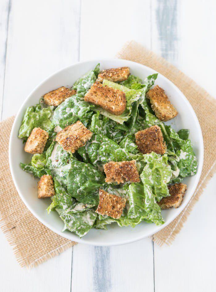Vegan Caesar Salad Recipe | One Ingredient Chef