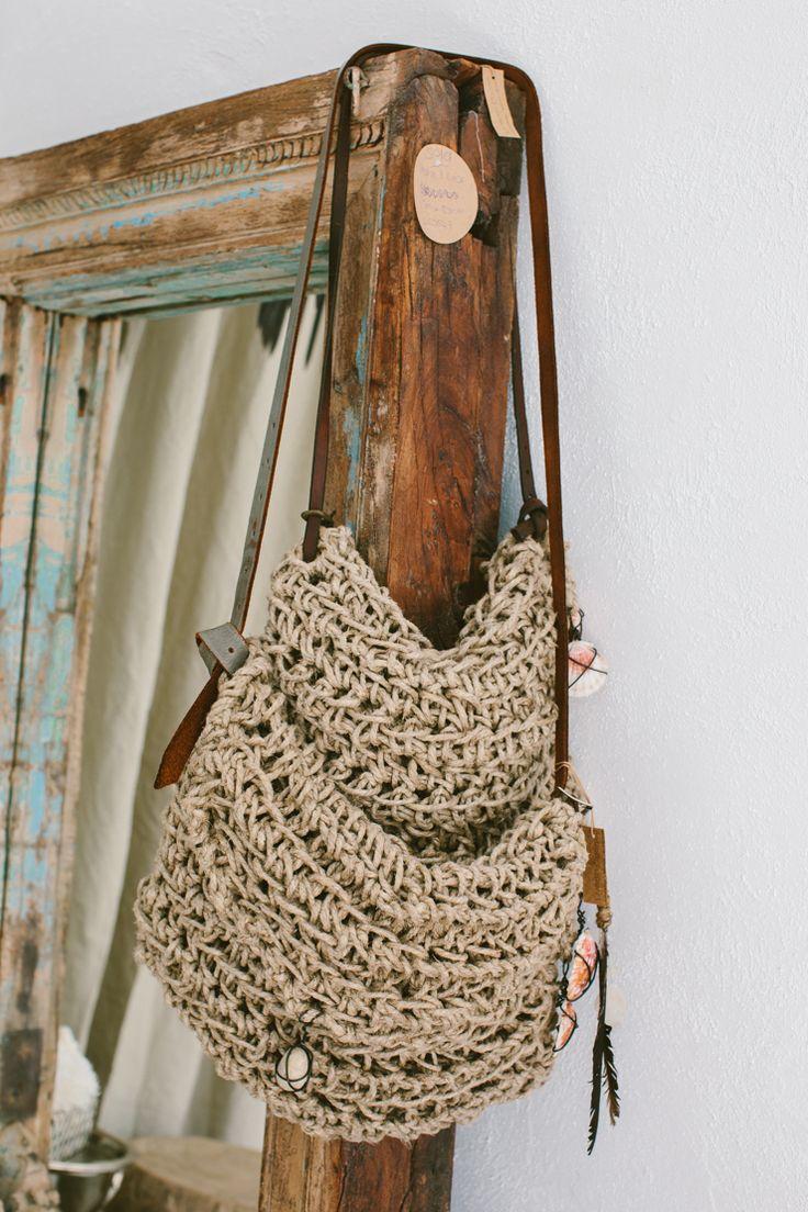 Knitted Belgium Jute Bags  Photography Luisa Brimble