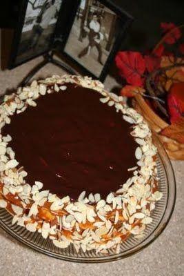 Torta de mil hojas. An amazing Chilean cake.
