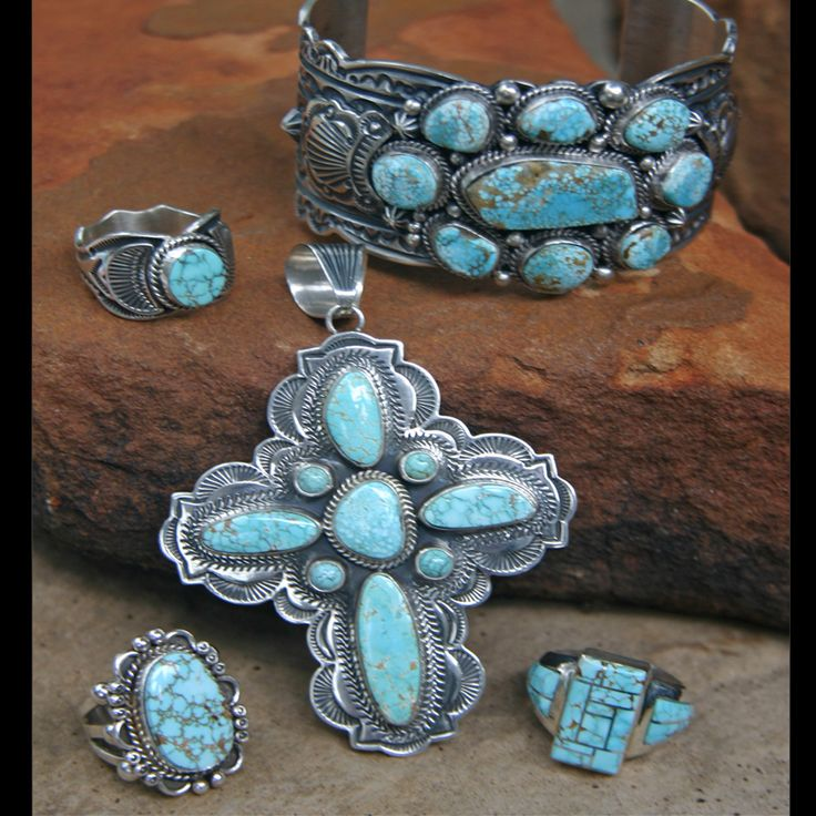 17 best images about native american indian jewelry on for Southwestern silver turquoise jewelry