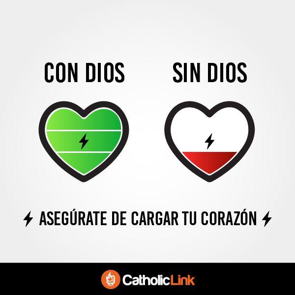 Asegúrate de cargar tu corazón
