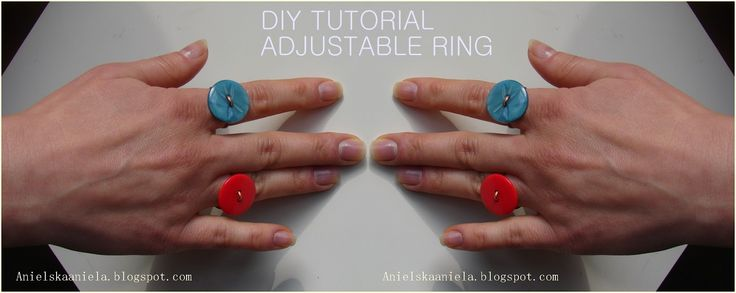 DIY TUTORIAL adjustable ring regulowany pierścionek diy