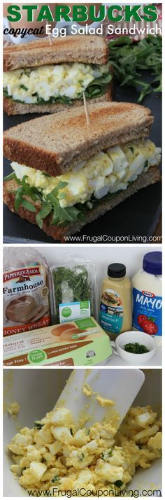 Copycat Starbucks Egg Salad Sandwich Recipe – Refreshing Beverage Made at Home