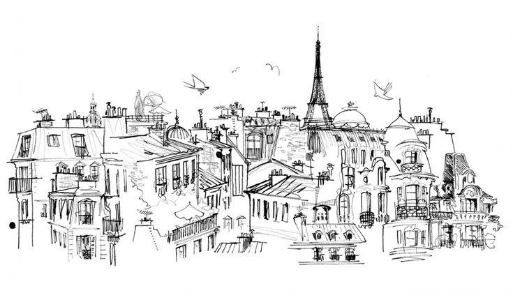 Lovisa Burfitt - Paris roof tops