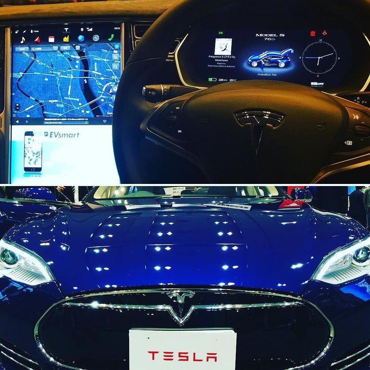 おいくらなんですか( ᐛ ) 920万円です()   (  )   #車 #テスラ #テスラモーターズ #920万円 #高級車 #眺めるだけ #自動運転 #iot #ソフトウェアアップデート #オンラインでリコール対応 #モデルS #クルーズコントロール #電気自動車 #EV #イーロンマスク #70D #最高時速225km #5秒で時速100km #car #luxurycar #tesra #tesramotors #hightechnology  #ただただ眺めるだけ by ottotto10