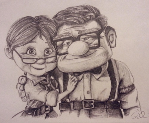 Up Movie Art