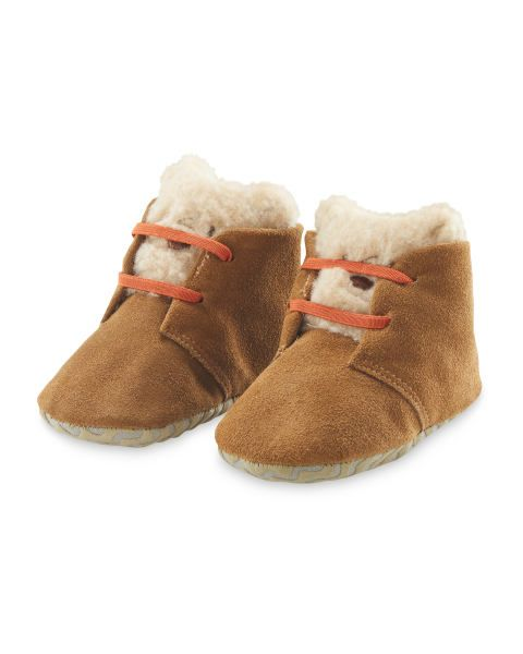 654a01154d233 Lily & Dan Baby Suede Booties | Childrens XMAS | Suede booties ...