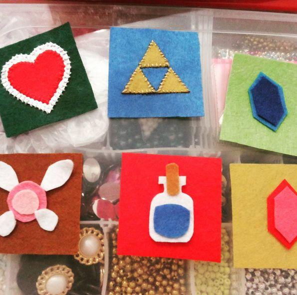Legend of Zelda cute cube progress! - Imgur