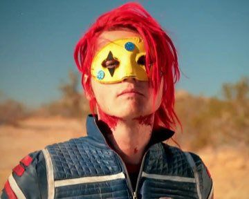 Gerard Way My Chemical Romance. The colors and inspiration for this album made my heart soar!