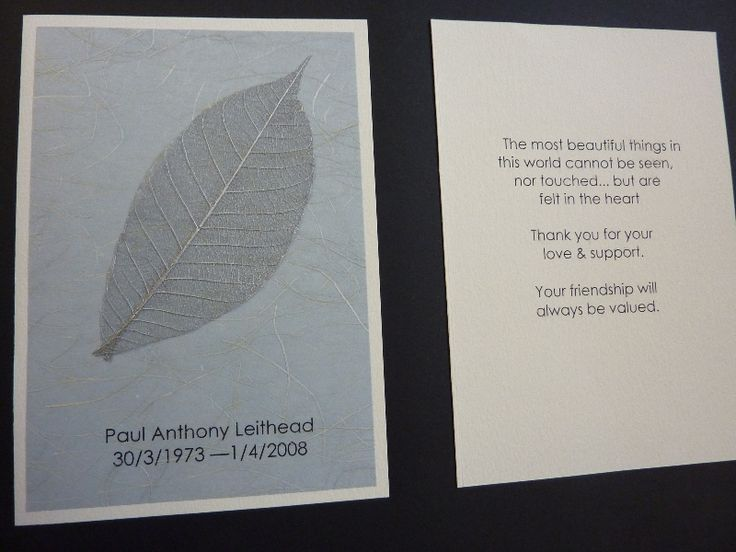 Silver leaf bereavement