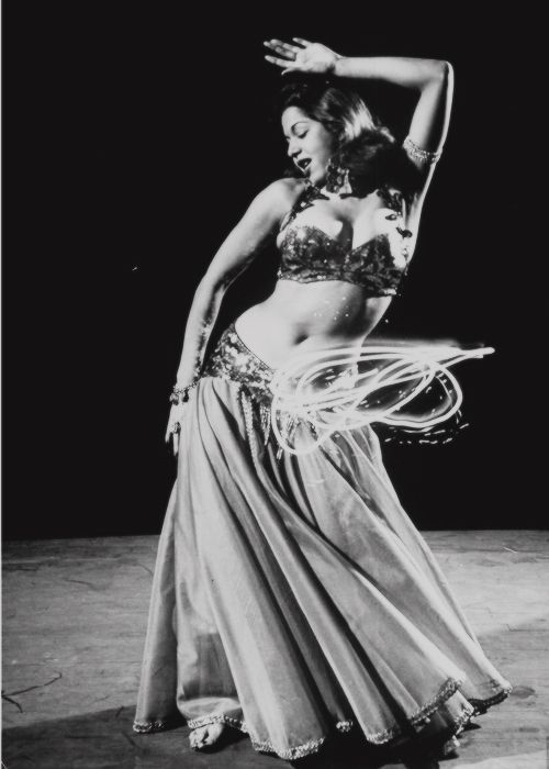 Samia Gamal...She incorporated techniques from ballet and Latin dance ...