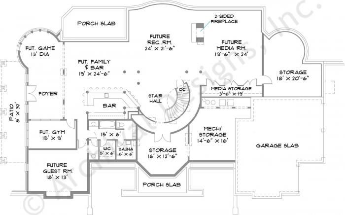 90 best favorite floor plans images on pinterest House plan with basement parking