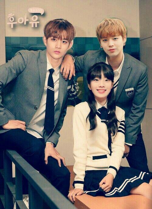 Dahyun×Jihoon×Jinyoung edit School 2015