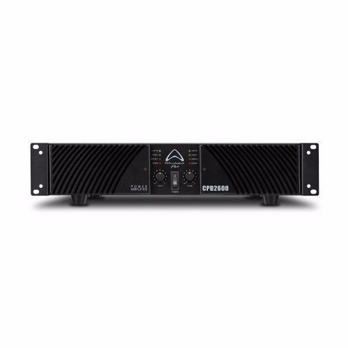 The CPD2600 is part of Wharfedale Pro's latest line of professional power amplifiers driving earth shaking audio from the front of your venue, all the way to the back.For using in stereo the amplifier delivers 650W RMS per channel at 8 Ohms and 1000W RMS per channel at 4 Ohms