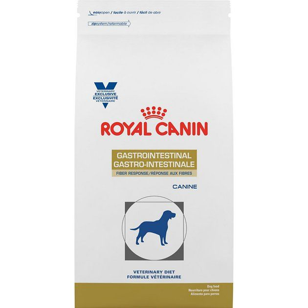 Buy Royal Canin Veterinary Diet Gastrointestinal Fiber Response Dry Dog Food 17 6 Lb Bag At Chewy Com Free Shippi Dry Dog Food Dog Food Recipes Dog Allergies