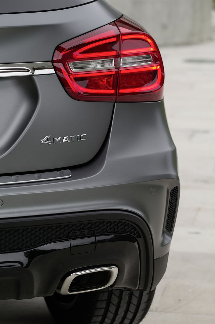 Exterior of the 2015 Mercedes-Benz GLA. Enter for a chance here: www.ktla.com/GLA.
