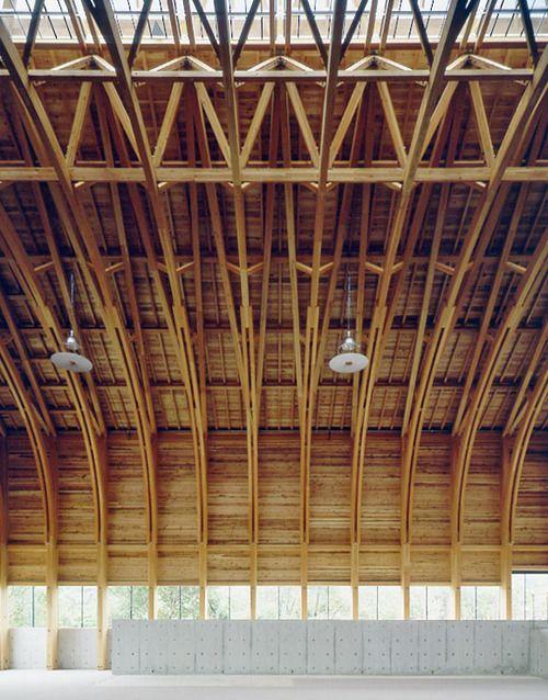 (via Remarkable Japanese Timber Structures | JA U)