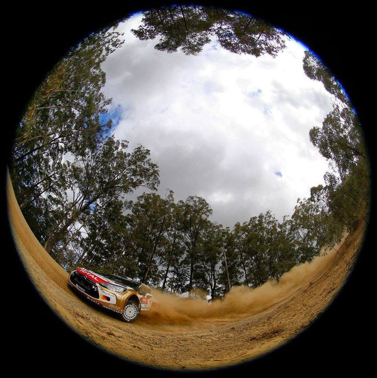 Citroën WRC – Coates Hire Rally Australia 2014