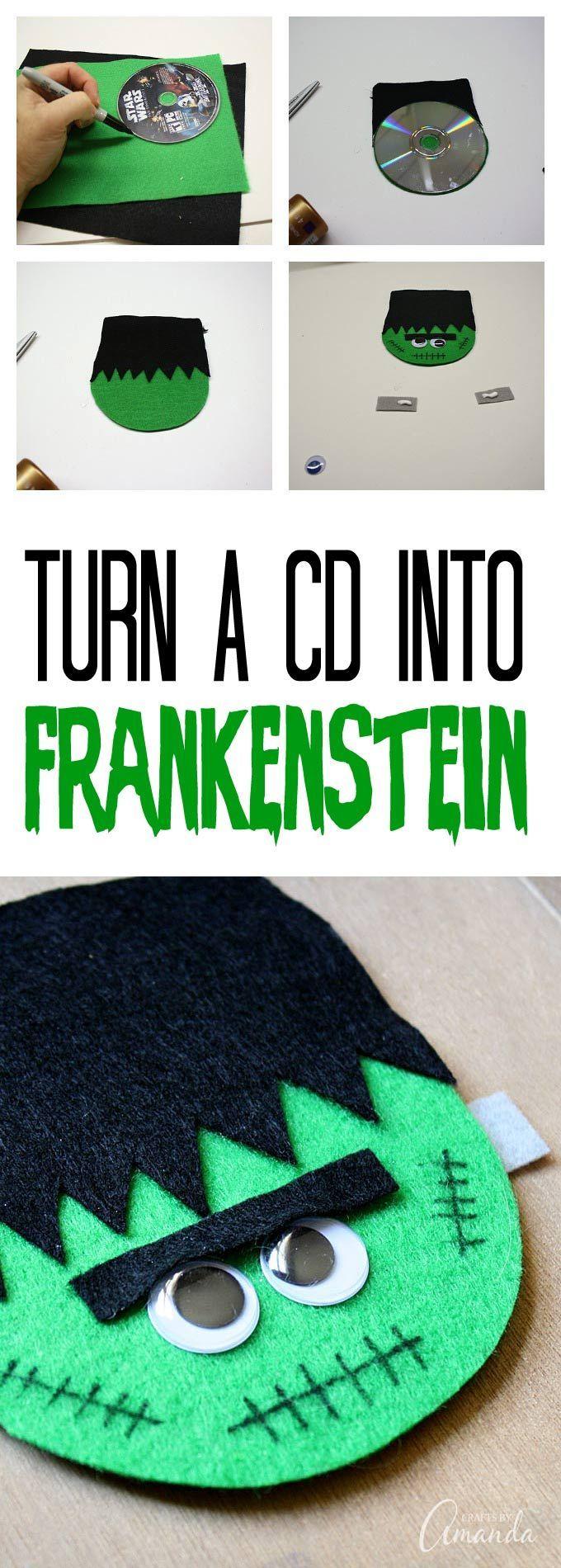 Best 25+ Frankenstein craft ideas on Pinterest | Halloween canvas ...